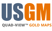 USGM Quad-View™ Gold Maps