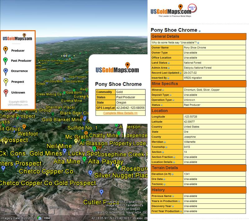 Colorado Gold Map Bundle w/ USGM Quad-View™