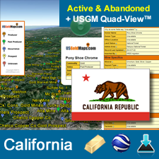 Where to find gold in California   on