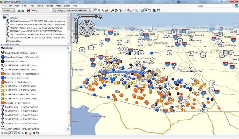 Colorado Std Gold Maps & USGM Quad-View™ GPS Gold Map Bundle
